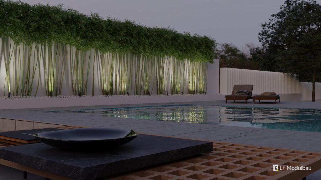 LF Home IV - Pool (Bambus)